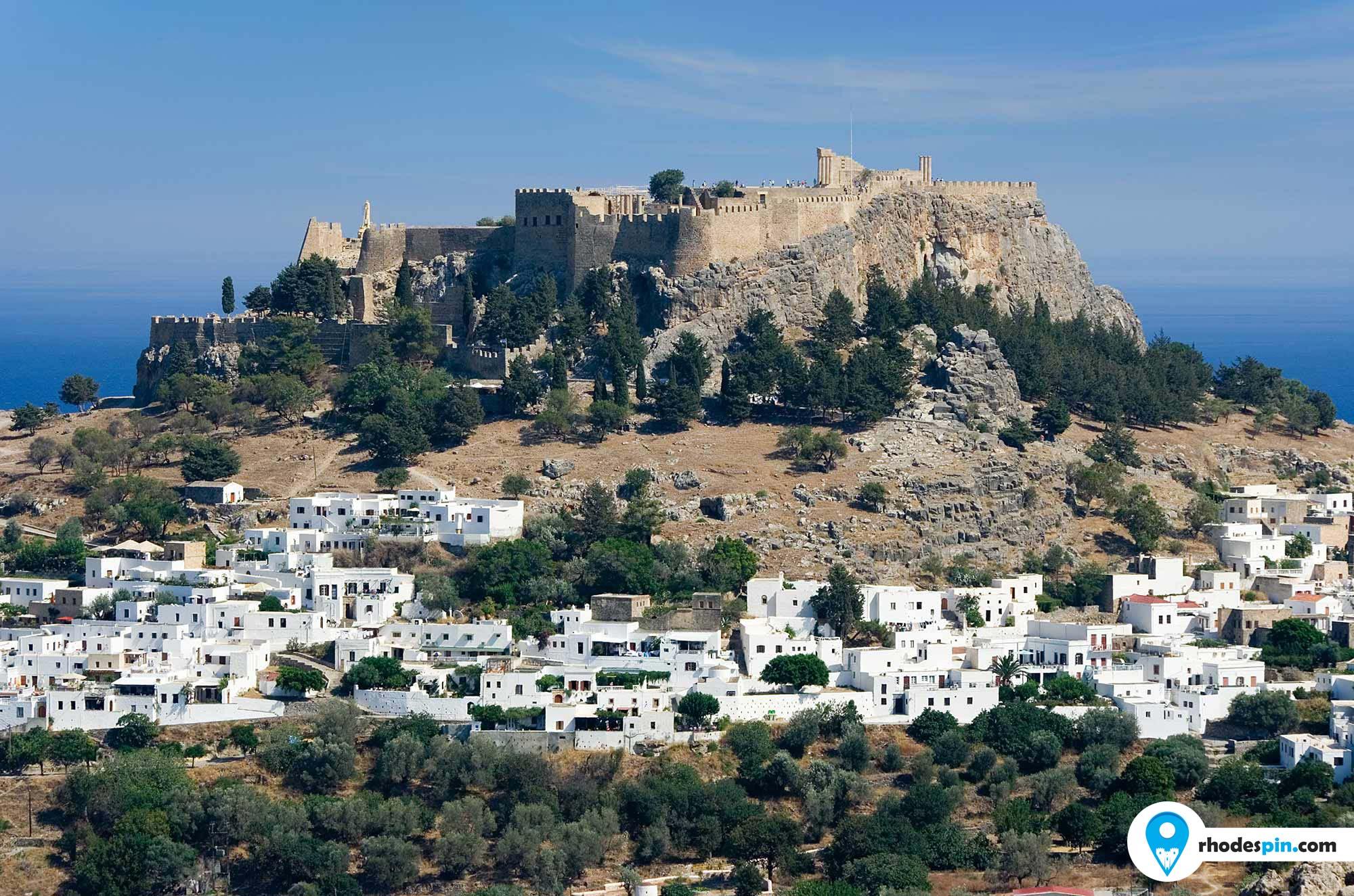 Acropolis of Lindos Rhodes island