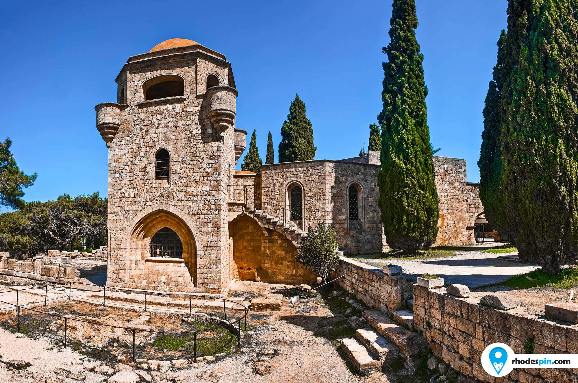 Ancient Ialisos & cross Rhodes island