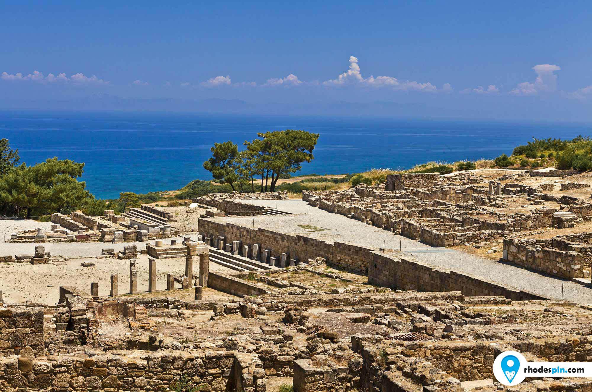 Ancient Kamiros Rhodes island