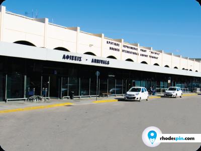 Diagoras airport Rhodes island, diagoras rodos