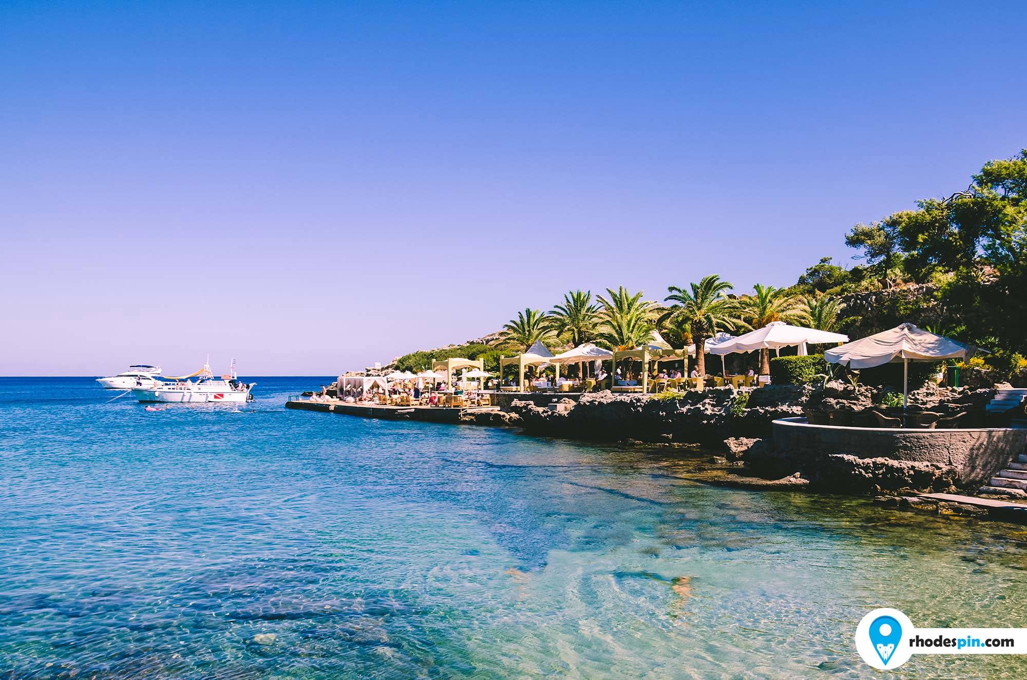 Kalithea springs Rhodes Island