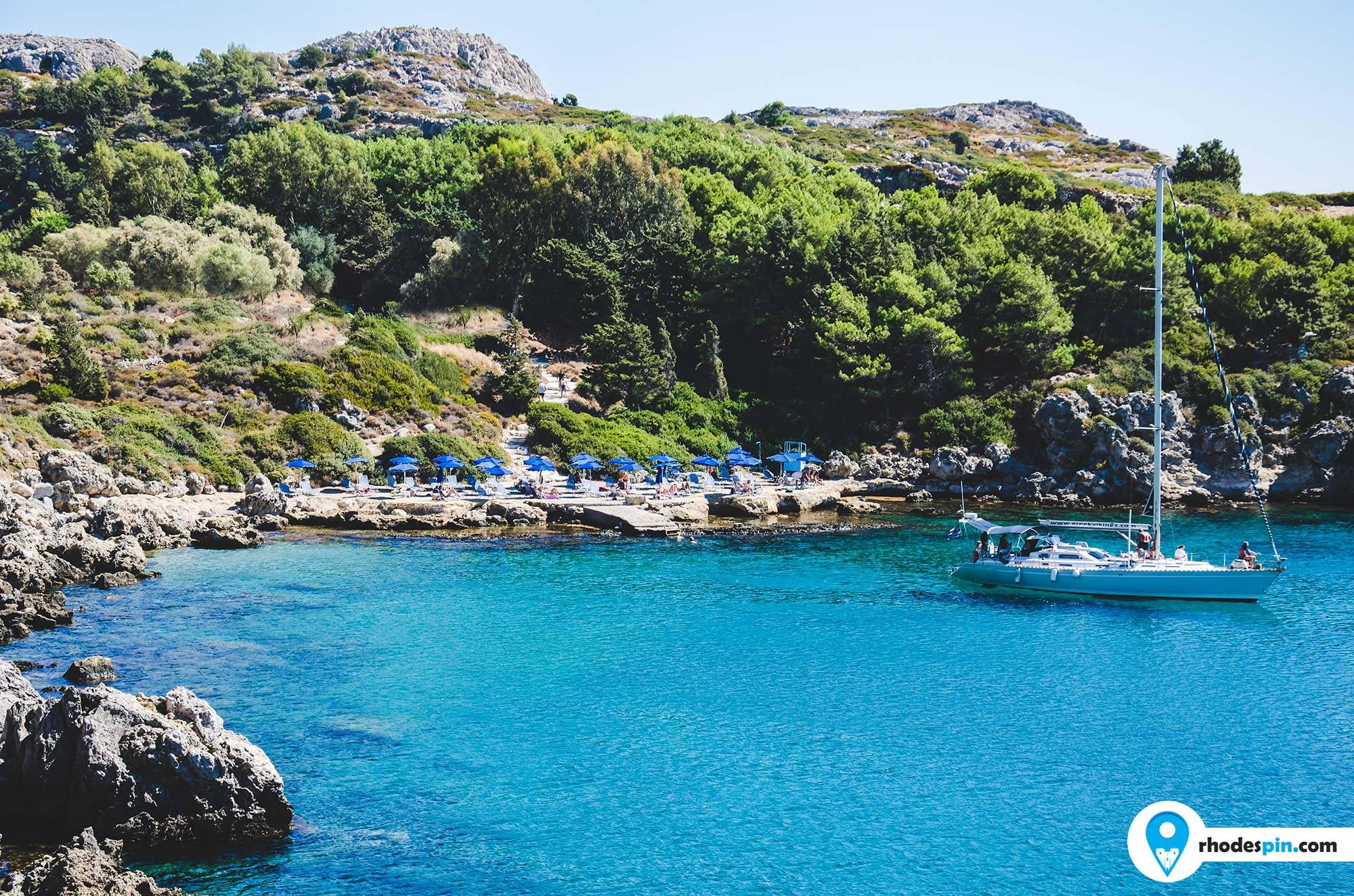 Ladiko beach Rhodes Island