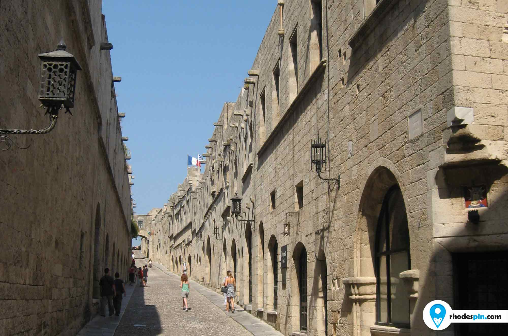 Old town rhodes, old town rodos, medieval rhodes,medieval rodos, ipoton street