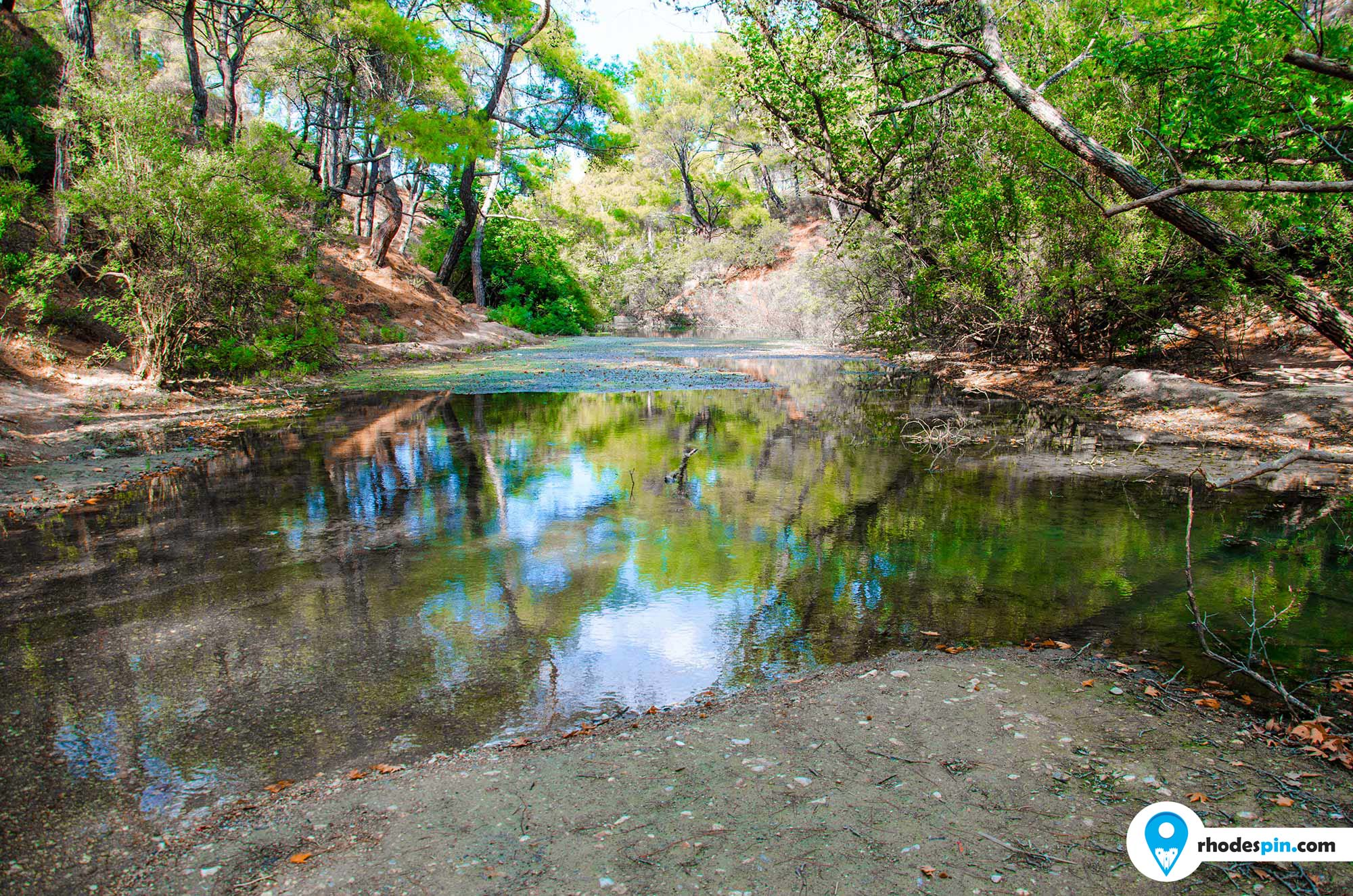 Seven springs Rhodes island