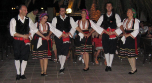 Greek night Rhodes island, Greek night Rodos island
